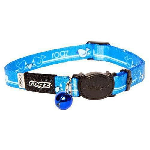 Rogz KiddyCat Blue Royal Birds