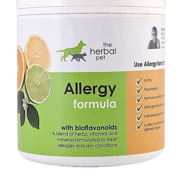 The Herbal Pet Allergy Formula