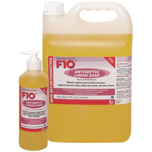 F10 Antiseptic Liquid Soap