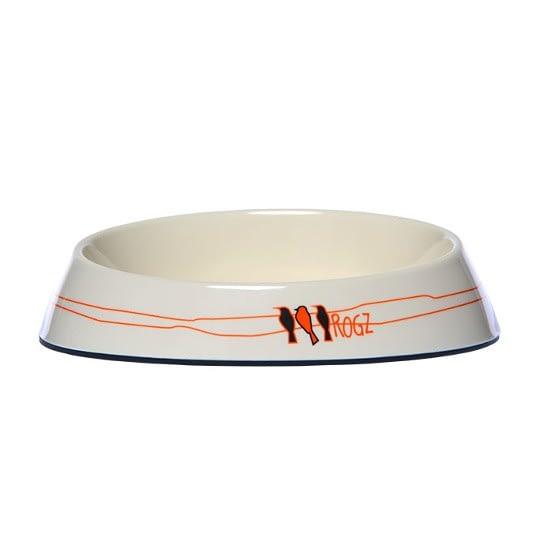 Rogz Fishcake Bowl - Candy Stripes