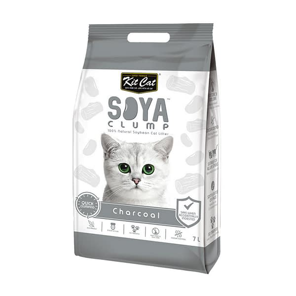 Kit Cat Soya Litter - Charcoal 2.8 kg