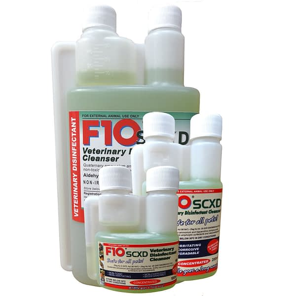 F10 SCXD Veterinary Disinfectant