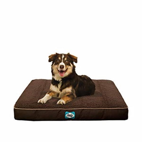 Sealy Cushy Comfy Dog Bed Brown
