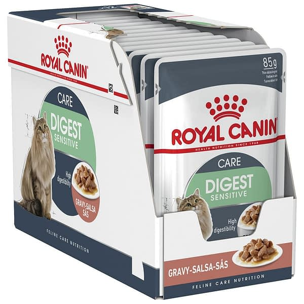 Royal Canin Feline Digest Sensitive Pouch in Gravy