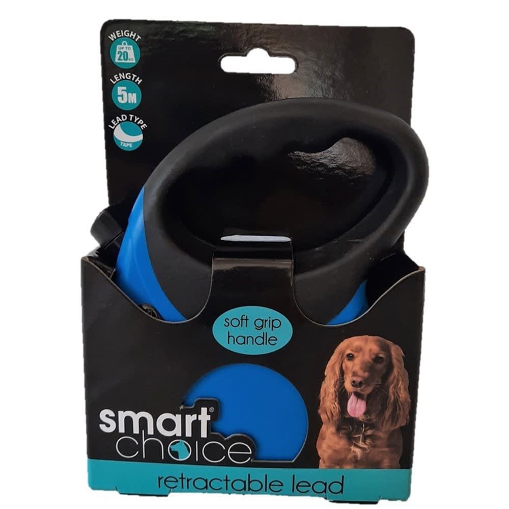 Smart Choice Auto Retractable Dog Lead 5m