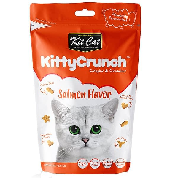 Kit Cat KittyCrunch Salmon 60g