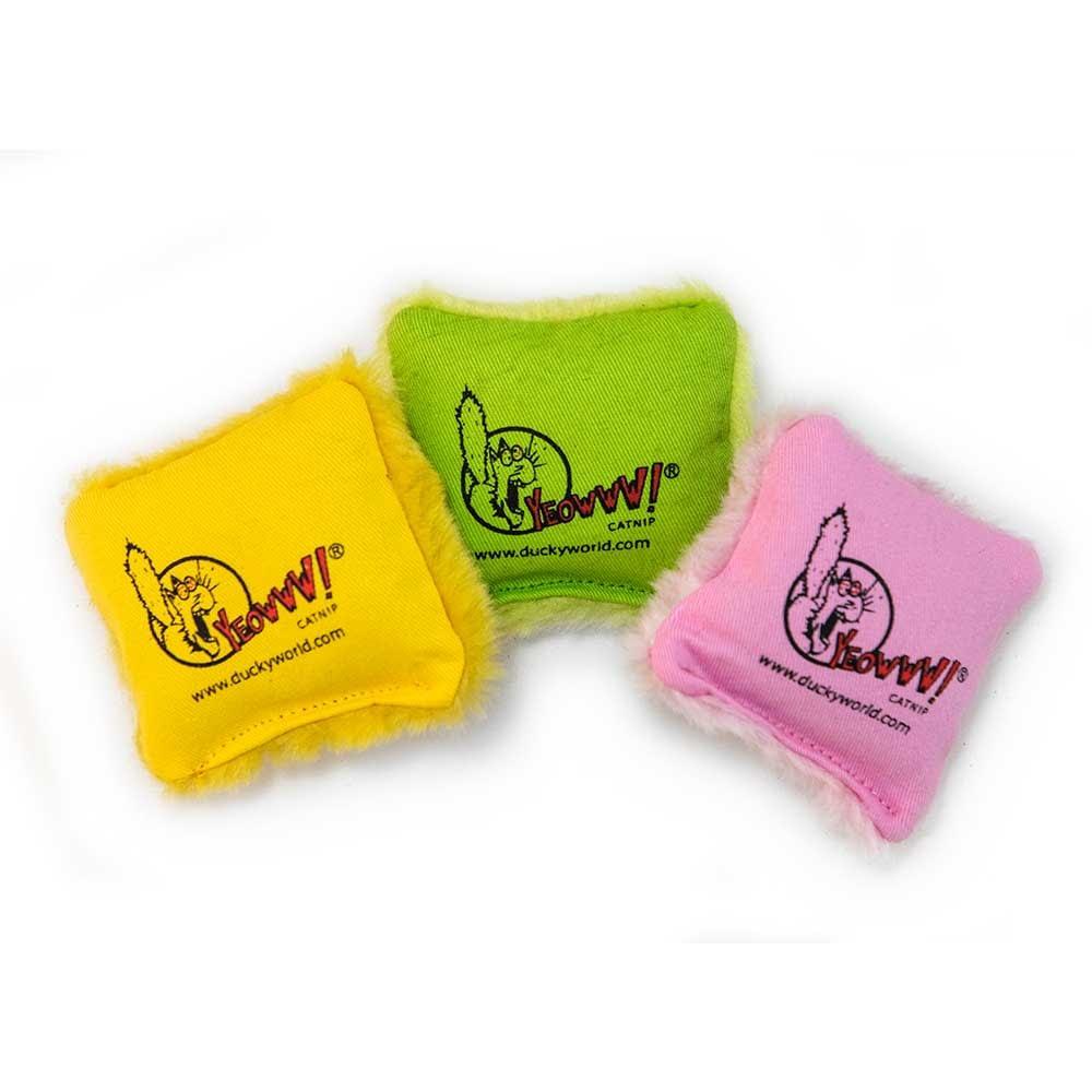 Ducky World - Yeowww! Catnip Pillows