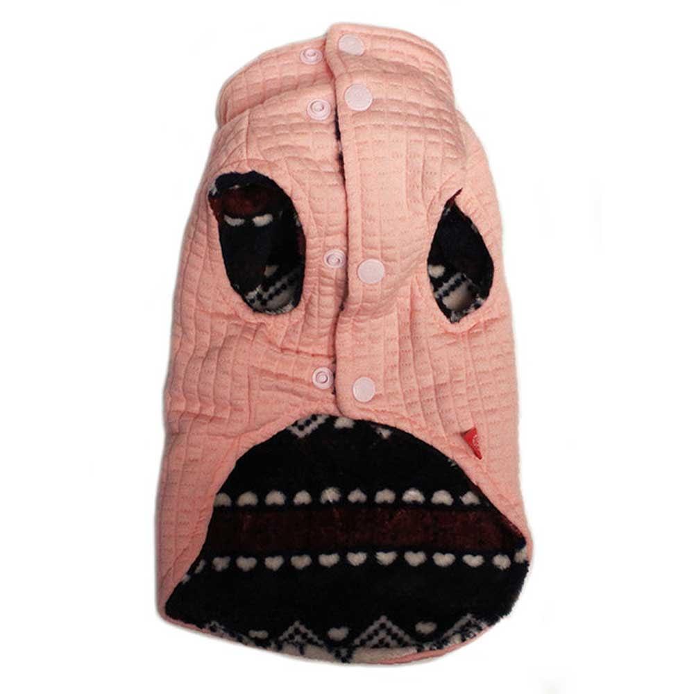 Dog's Life Superpup Lightweight Puffer Vest Pink back