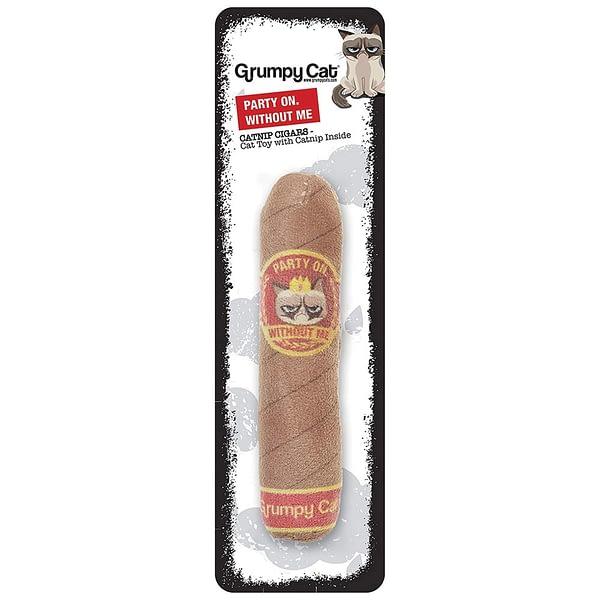 Rosewood Grumpy Cat Catnip Cigar