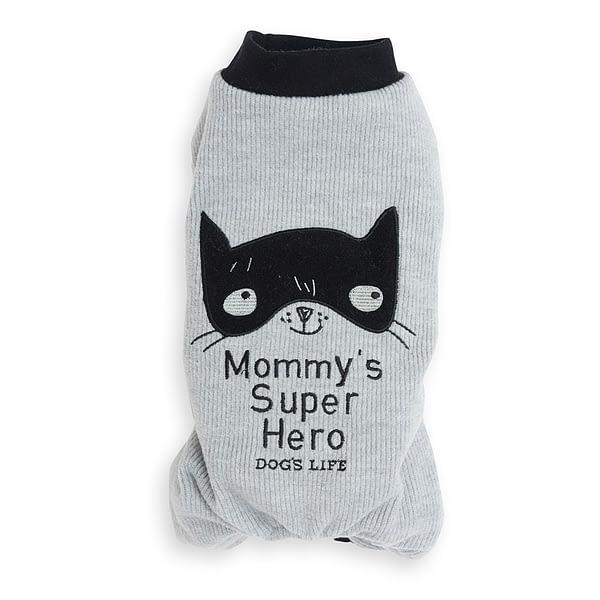 Dog's Life Mommy PJ-grey