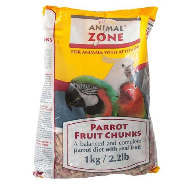 AnimalZone Parrot Fruit Chunks