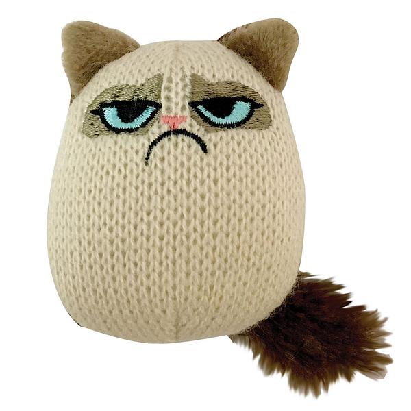 Grumpy Cat Knit Pouncey