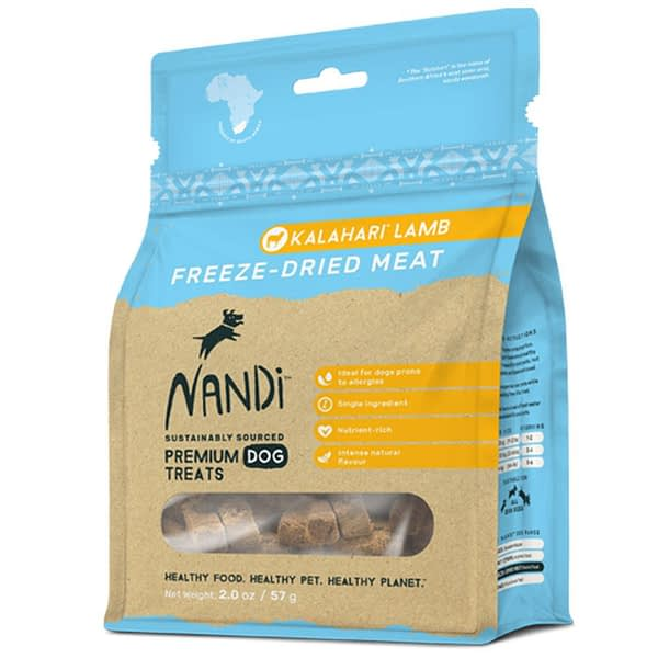 Nandi Freeze-Dried Meat Lamb Dog Treats