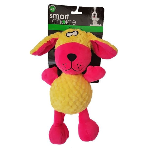 Smart Choice Plush Toy with Double Squeakers