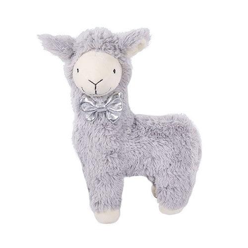 Rosewood Luxury Grey Plush Llama