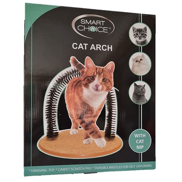 Smart Choice Self Cat Grooming & Play Arch