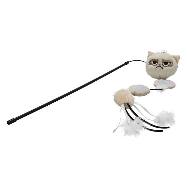 Rosewood Grumpy Cat Annoying Plush Cat Wand