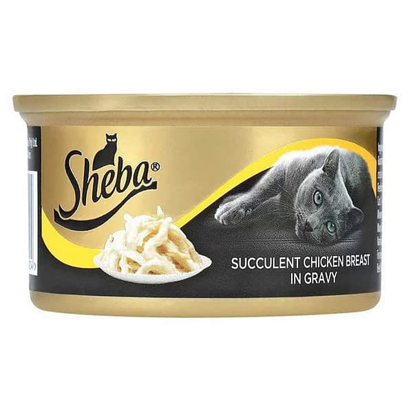 Sheba Succulent Chicken Breast in Gravy Wet Cat Food