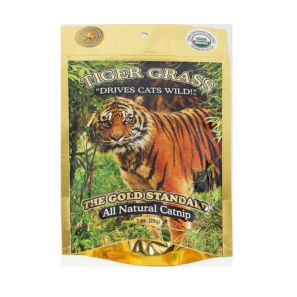 Go Cat Tiger Grass Organic Catnip