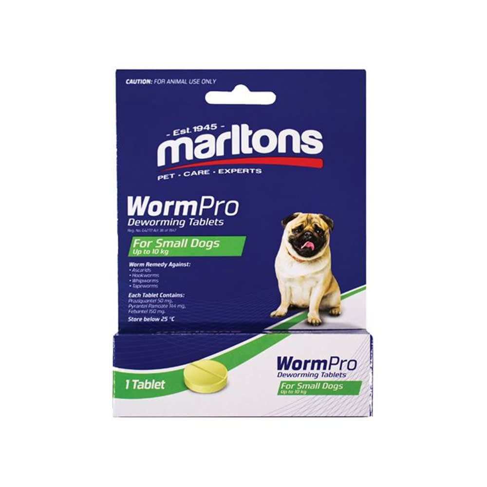 Marltons WormPro for Dogs - Small Dogs