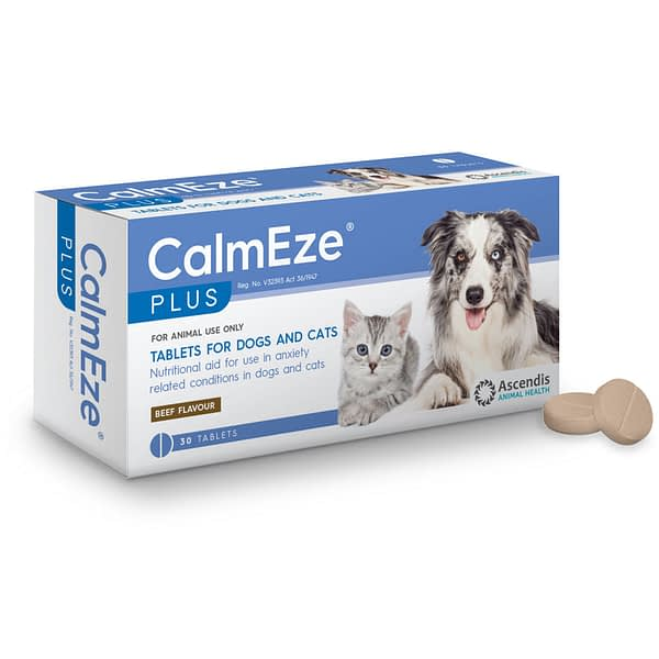 CalmEze Plus Tablets for Dogs