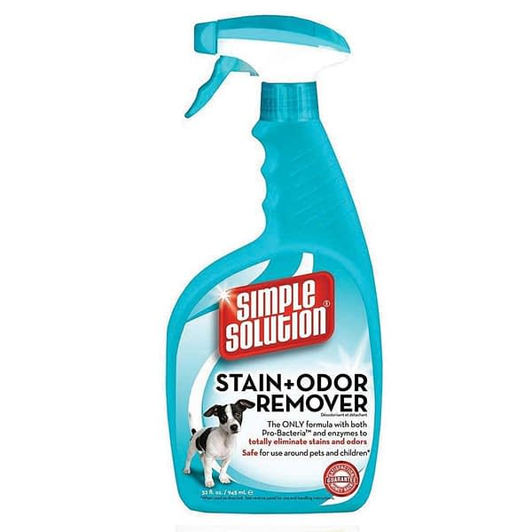 Simple Solution Stain and odour remover contains Pro-Bacteria and Enzymes