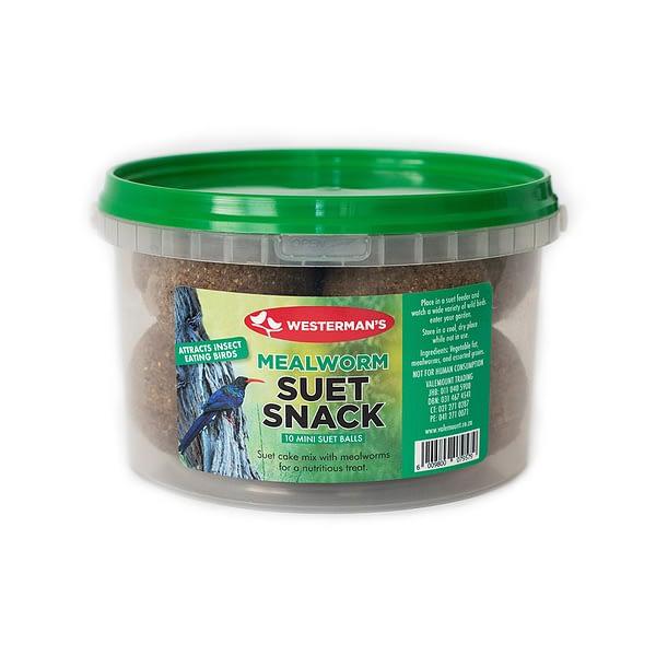Westerman's Mealworm Suet Snack