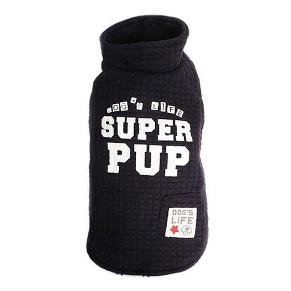 Dog's Life Superpup Lightweight Puffer Vest Blue