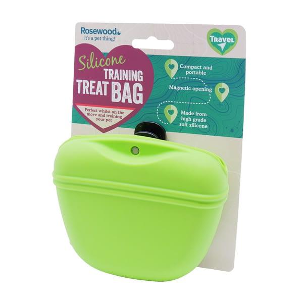 Rosewood Silicone Training Treat Bag