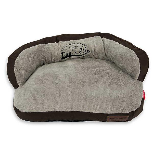 Dog's Life Slumber Sofa Grey