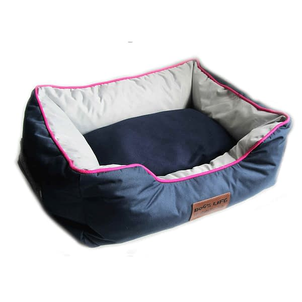 Dog's Life New Premium Country Waterproof Bed - Navy