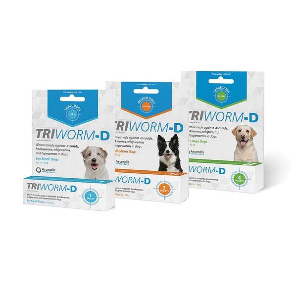 Triworm-D Individual Packs