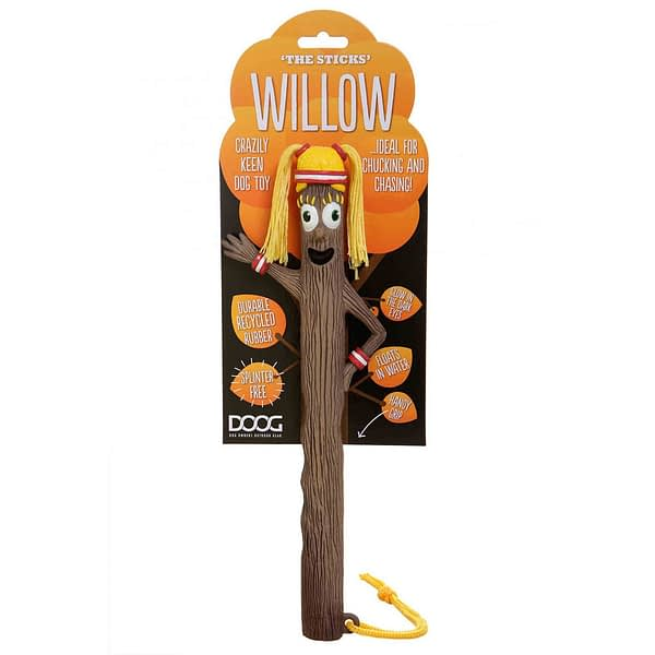 McMac Doog Mr Willow Recycled Toy