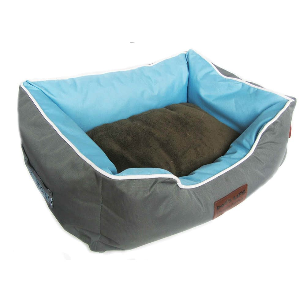 Dog's Life New Premium Country Waterproof Bed - Blue
