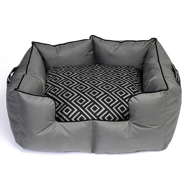 Wagworld K9 Castle - Grey and Black