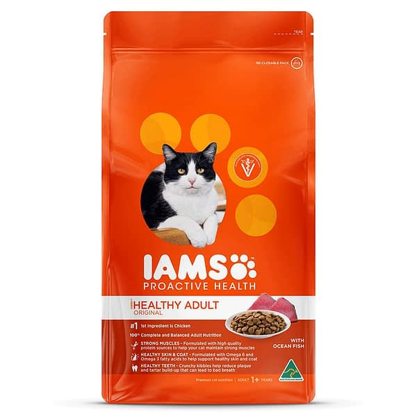 Iams Proactive Health Adult Cat - Wild Ocean Fish & Chicken