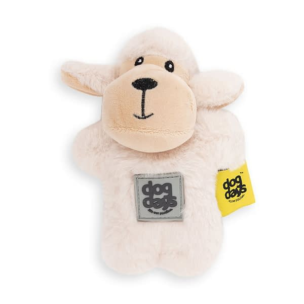 Dog's Life Sheep Plush Toy with Squeaker