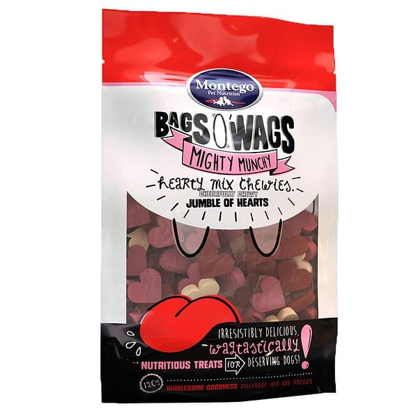 Montego Bags O' Wags Chewies Hearty Mix