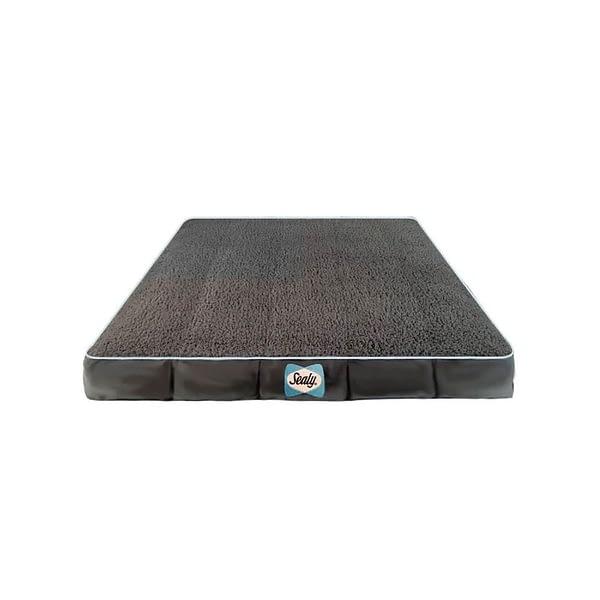 Sealy Cushy Comfy Dog Bed Cover - Grey