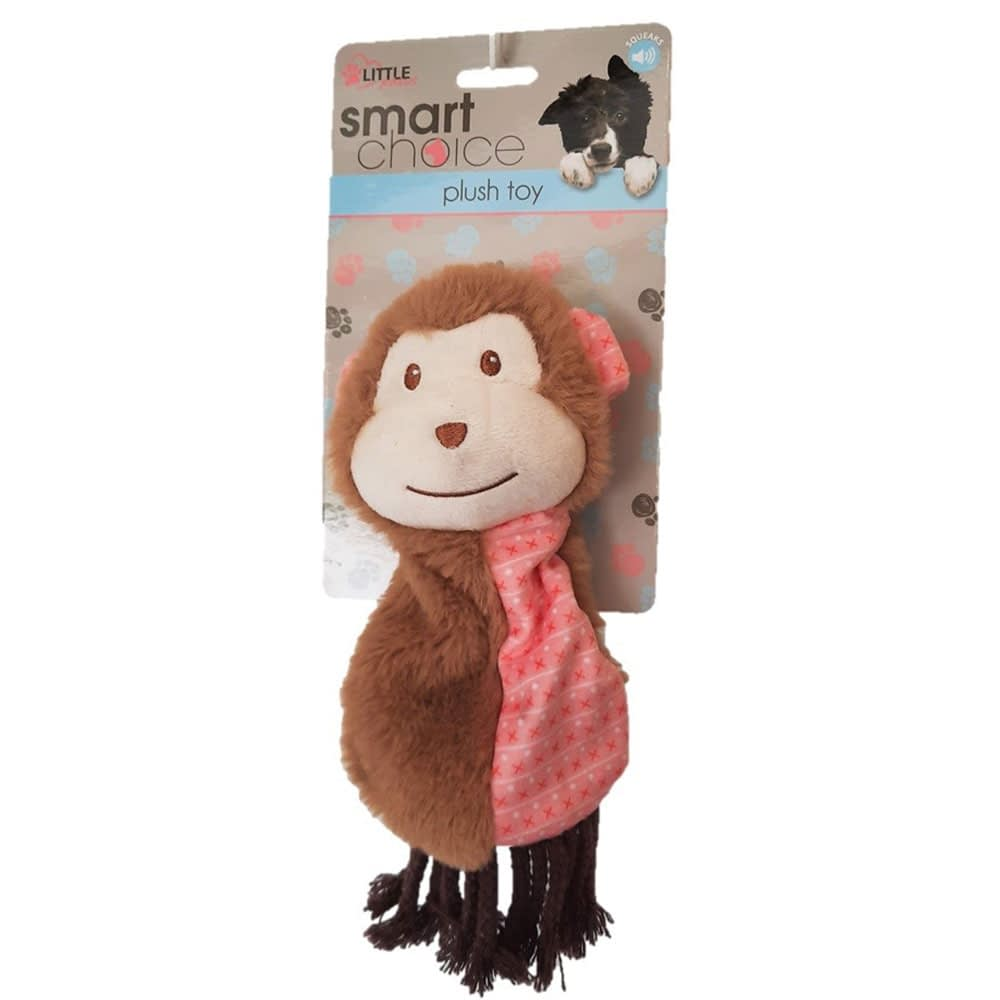Smart Choice Plush Monkey Puppy Toys