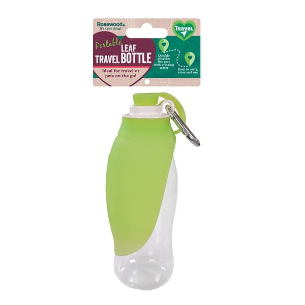 Rosewood's Portable Leaf Travel Bottle