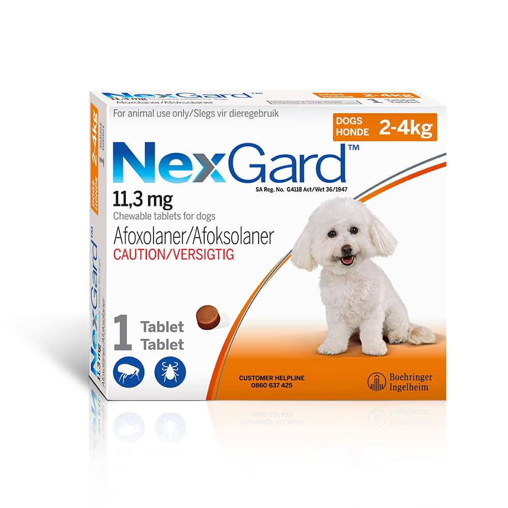 NEXGARD Chews for dogs