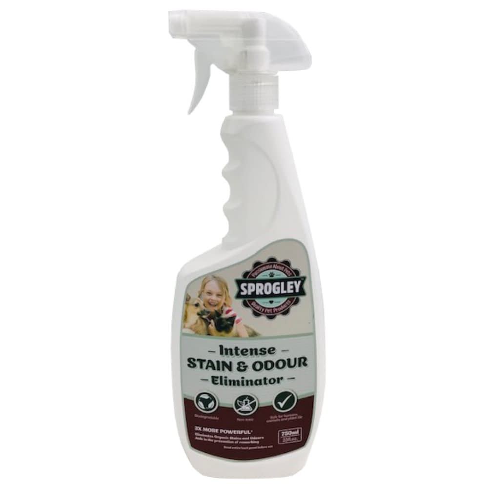 Sprogley Intense stain and odour