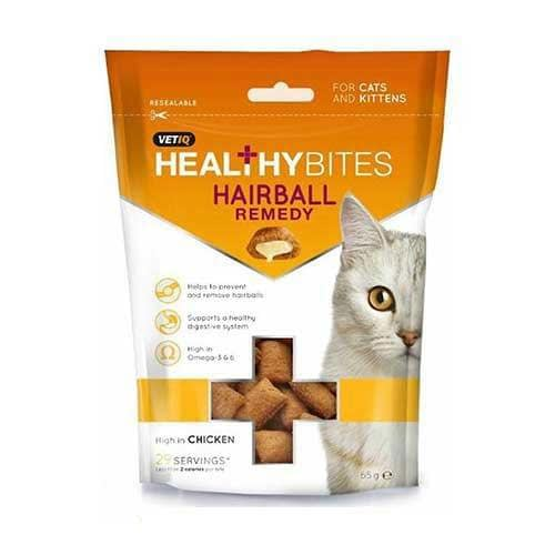 Mark&Chappell Healthy Bites Hairball Remedy for Cats