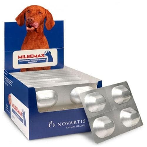 Milbemax Dog Chew Tablet for 5 - 25 kg Dogs