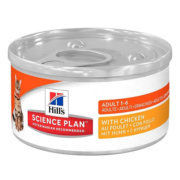 Hill's Feline Optimal Care Adult Chicken - Can 85g