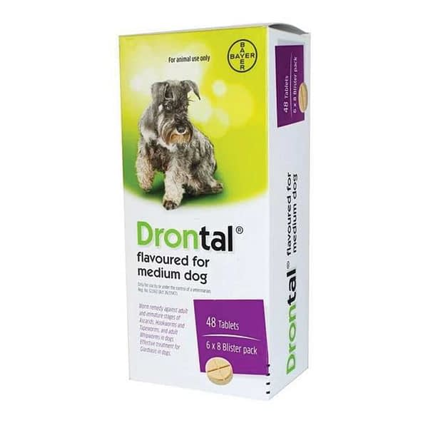 Bayer Drontal for Medium Dogs