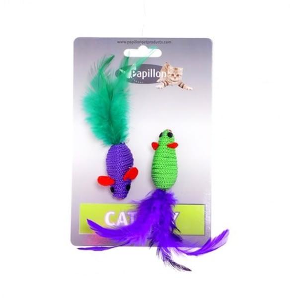 Papillon-Mice-cat-toy